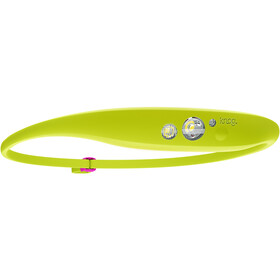 Knog Quokka Headlamp, cool lime/grape